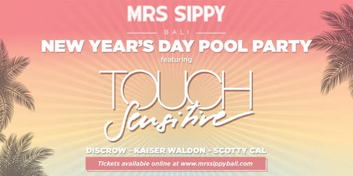 New Year's Day Pool Party  featuring TOUCH SENSITIVE