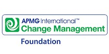Change Management Foundation 3 Days Training in Oslo