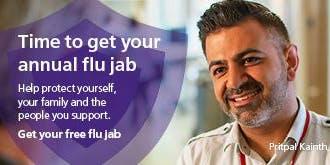 BCC flu vaccinations - 28 October