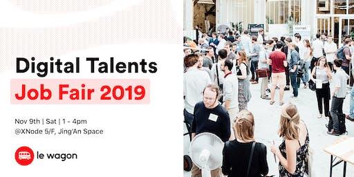 Le Wagon Digital Talents Job Fair Nov 2019