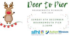 Deer to Pier - Bournemouth Reindeer Run 2019