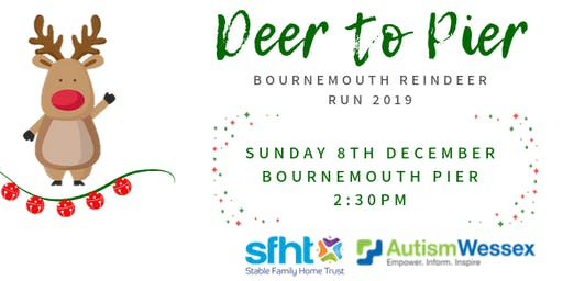 Deer to Pier - Bournemouth Reindeer Run 2019