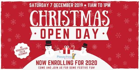 Playschool Nursery Christmas Open Day - Welwyn Garden City tickets