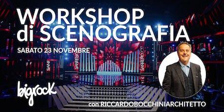 Workshop di Scenografia biglietti