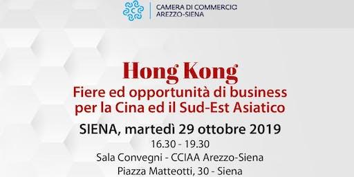 HongKong Fiere e opportunità di business per la Cina ed il Sud-Est Asiatico