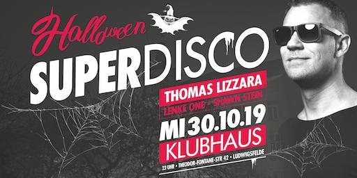 Superdisco Halloween mit Thomas Lizzara