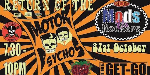 Return of the Motor Psychos - Park It in the Market - October