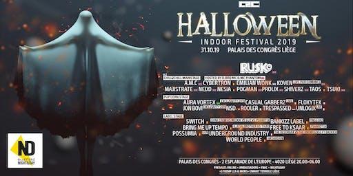 Chill2chill Halloween Indoor Festival 2019