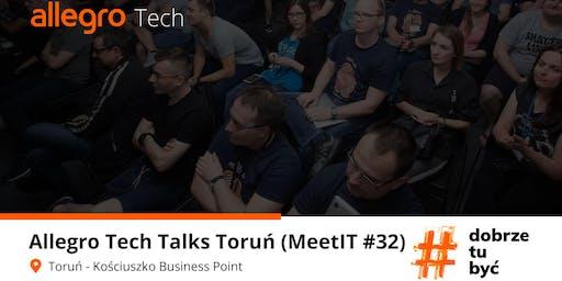 Allegro Tech Talks  Toruń (MeetIT #32)