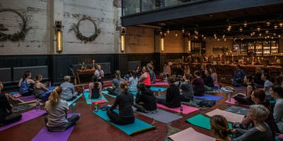Candlelight :: Restorative Yoga Supper at The Mowbray