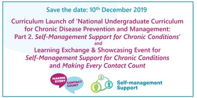 Self-Management Support Curriculum Launch and Learning & Showcasing Event