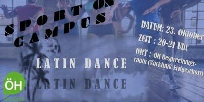 Sport on Campus - Latin dance by Caro