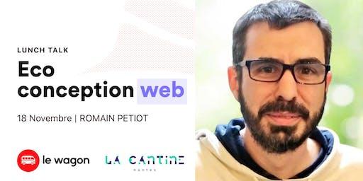 Lunch Talk avec Romain Petiot, fondateur d'I Have A Green