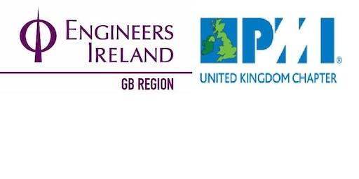 Joint Engineers Ireland GB Region/PMI UK Chapter Event: Oil&Gas + CDM Talks