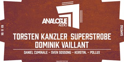 Analogue Audio Night - Torsten Kanzler, Superstrobe, Dominik Vaillant uvm