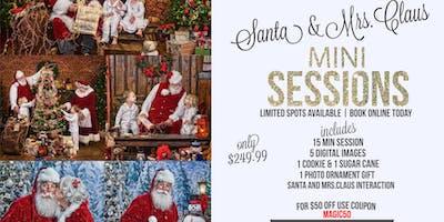 Portraits with Santa & Mrs Claus
