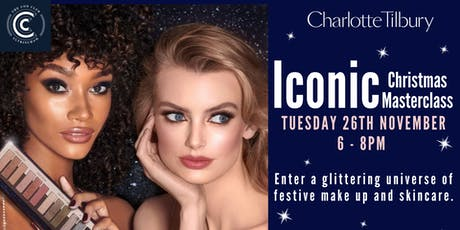 Festive make up masterclass with Charlotte Tilbury tickets