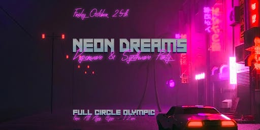 Neon Dreams: Vaporwave & Synthwave Party