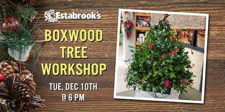 Boxwood Tree Workshop tickets
