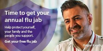 BCC flu vaccinations - 29 October
