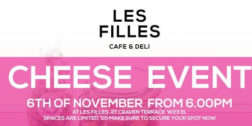 Cheese Workshop with Mandy Nolan at Les Filles