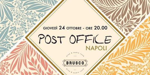 Post Office @ BRUSCO | 24 ottobre 2019