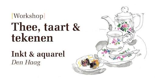 Workshop Inkt & Aquarel