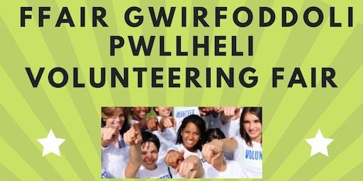 Ffair Gwirfoddoli PWLLHELI Volunteering Fair