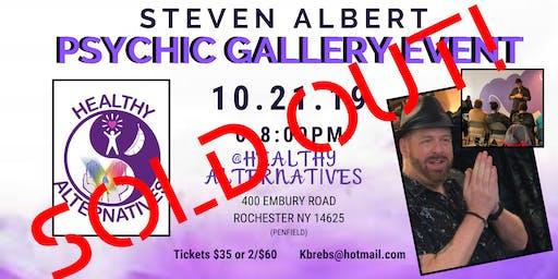 Steven Albert: Psychic Gallery Event - Healthy Alternatives 10/21