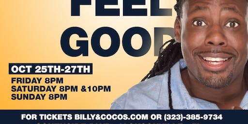 SHADDY FEEL GOOD Live @ BILLY and COCO'S Comedy Lounge