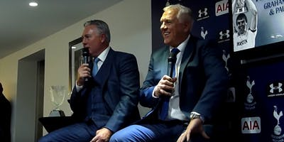 An evening with Spurs Legends Paul Miller and Graham Roberts in Scotland