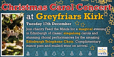 Christmas Carol Concert at  Greyfriars Kirk tickets
