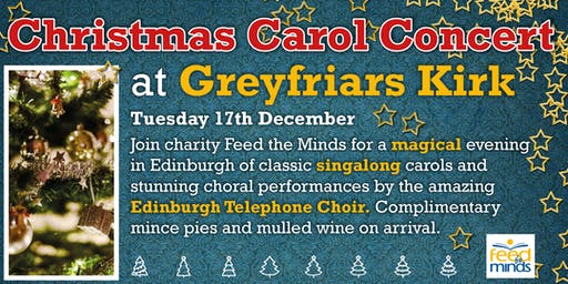 Christmas Carols at  Greyfriars Kirk