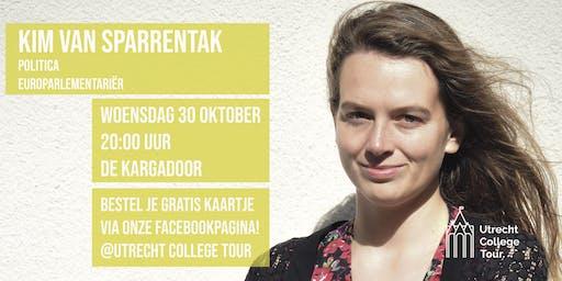 Kim van Sparrentak bij Utrecht College Tour