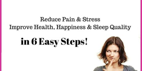 6 easy steps for better health and happiness St Ives tickets