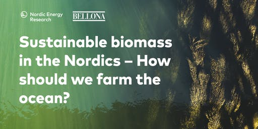 Sustainable biomass in the Nordics – How should we farm the ocean?