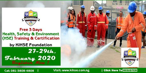 2nd Edition: Free 3-days HSE Training In Benin Cit