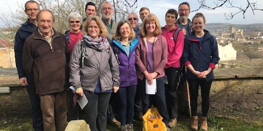Genesis Trust and Bath Abbey Autumn  Prayer Walk