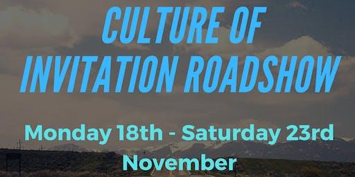 Culture of Invitation Roadshow 2019