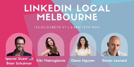 Linkedin Local Melbourne - November 2019