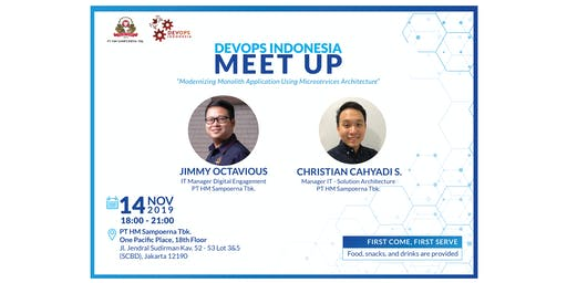 DevOps Indonesia Meetup - Modernizing Monolith Application Using Microservices Architecture