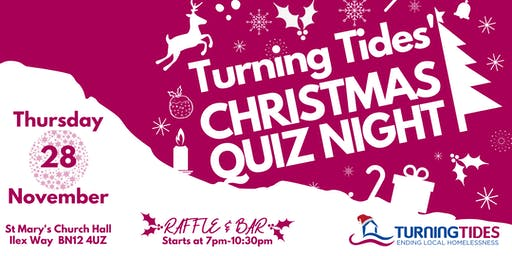 Turning Tides Christmas Quiz 2019