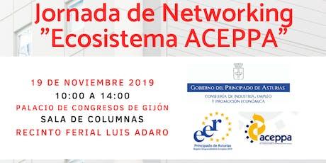 """JORNADA DE NETWORKING """"ECOSISTEMA ACEPPA"""" entradas"""