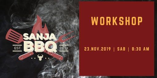 Sanja BBQ - I Workshop de Churrasco