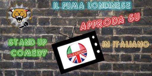 Il Puma Londinese Approda su Tele Londra