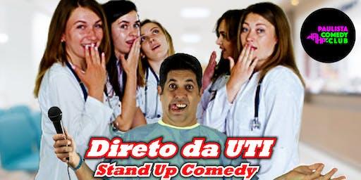 DIRETO DA UTI - Stand Up Comedy com Wagner Rodrigues