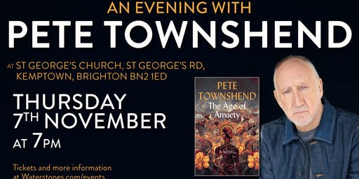 An Evening with Pete Townshend in Brighton