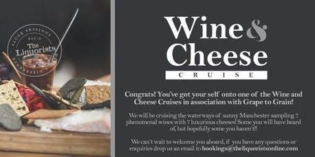 (22/50) Wine & Cheese Tasting Cruise! 1pm (The Liquorists)