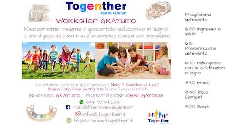 Togenther - Riscopriamo insieme il giocattolo educativo