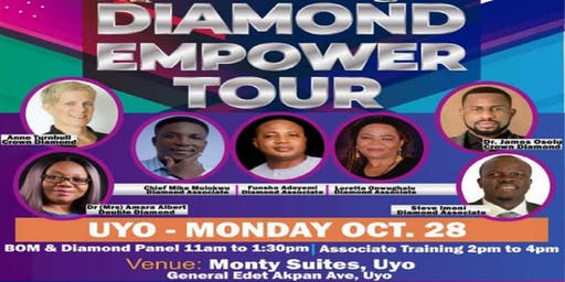 2019 MAX INTERNATIONAL DIAMOND EMPOWER TOUR - UYO